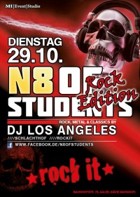 Flyer - N8 Of The Students - Rock Edition