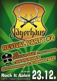 Flyer - Jägerhaus Revival Party #3