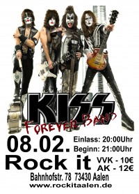 Flyer - Kiss Forever Band