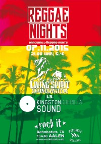 Flyer - Reggae Nights