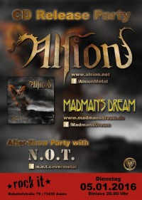 Flyer - Alsion CD Release