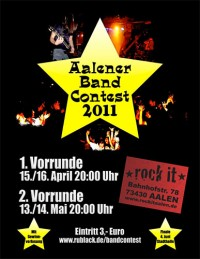 Flyer - Aalener Band-Contest II