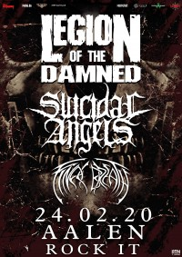 Flyer - Legion of the Damned