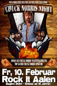 Flyer - Chuck Norris Night